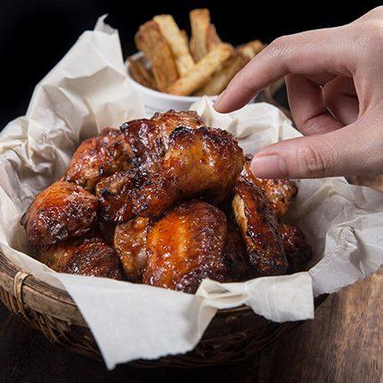 Pressure Cooker BBQ Wings