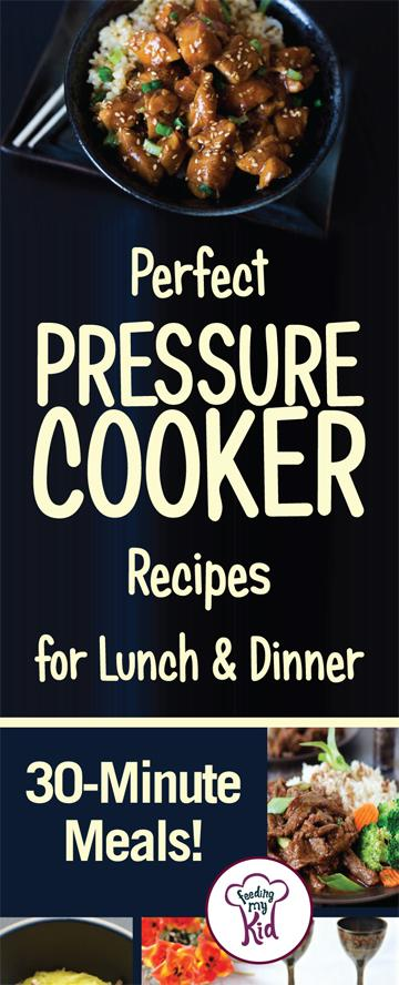Check out these amazingly tasty pressure cooker recipes that are perfect for the whole family! You don't have to sacrifice nutrition for taste!