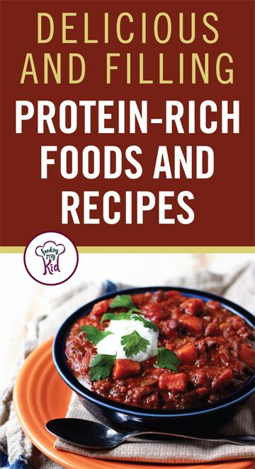 Check out these tasty protein-rich foods you can make for lunch and dinner! Protein-rich foods help keep you full! These recipes are packed with flavor.