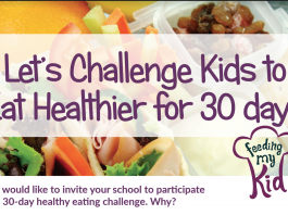 Take the 30 Day Healthy Eating Challenge with Your Kids