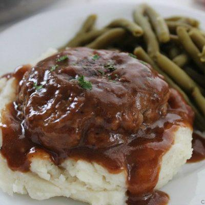 Simple Salisbury Steak