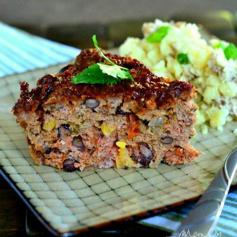 Slow Cooker Sante Fe Meatloaf