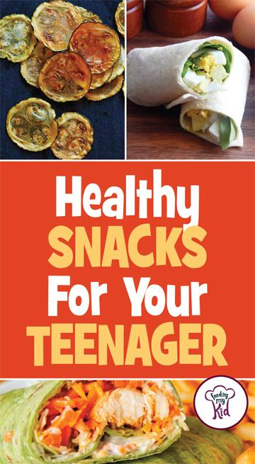 We put together this list of healthy snacks for teens that your kid will love to eat. These recipes are sure to please your teens!