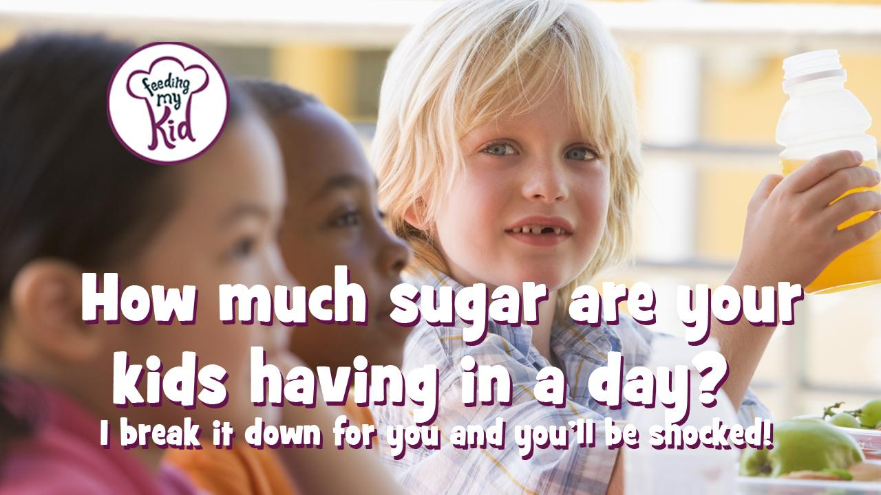 How Much Sugar Are Your Kids Having in a Day? You Will Be Shocked