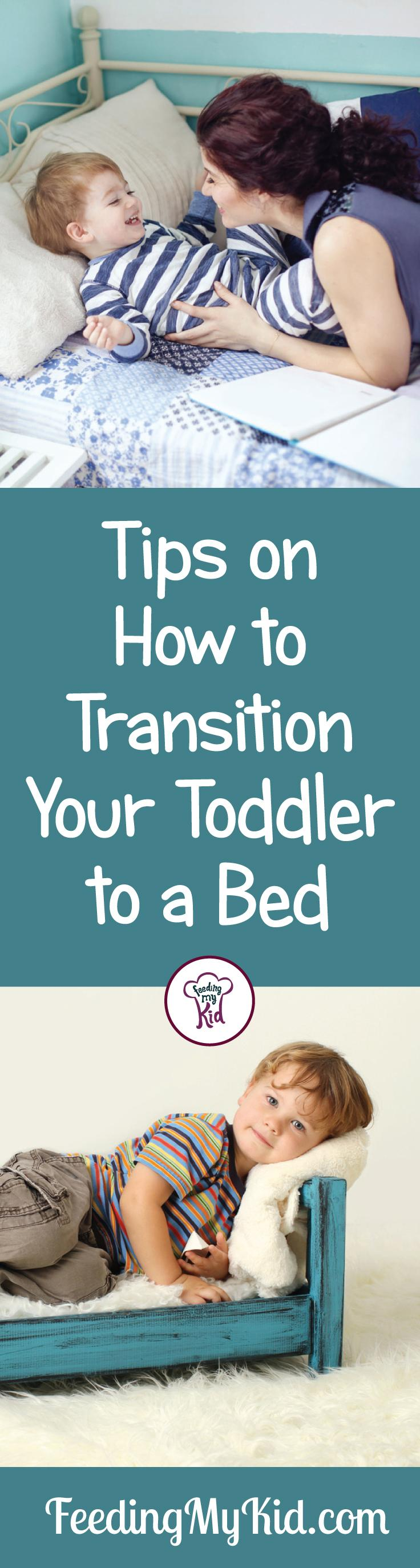 If your child having trouble transitioning to toddler bed? Check out this video to teach you how to get your kid into their new bed. Parenting tips!