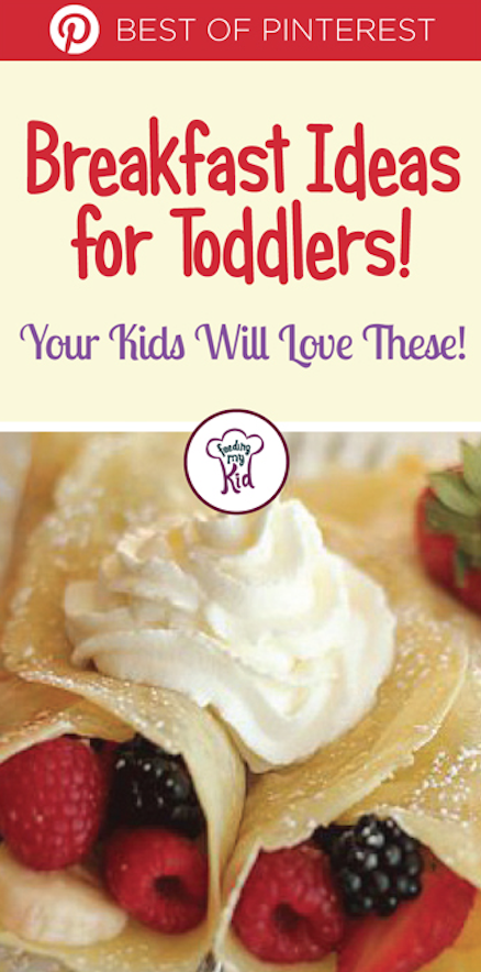 Check out these amazing breakfast ideas for toddlers. They're not only tasty, but they're healthy, too. So give them a go! Feeding My Kid is filled with all the information you need about how to raise your kids, from healthy tips to nutritious recipes. #FeedingMyKid #breakfast #toddler #recipes