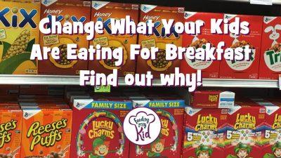 Change What Your Kids Are Eating for Breakfast. Find out why!