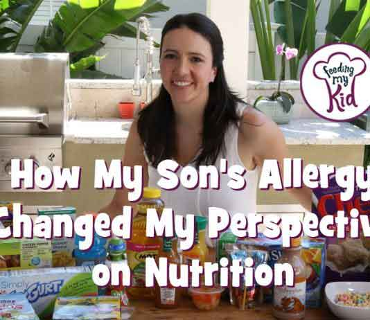 As we learn how to deal with my son's allergy, it set me off on a journey to learn about kids nutrition and how best to feed my family.