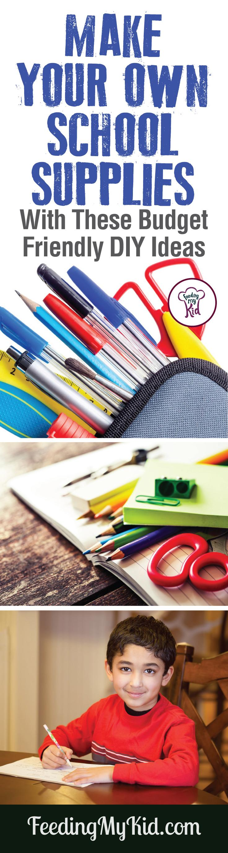 Make your own school supplies with this back to school DIY video! Get inspired with these budget-friendly tips to make personalized supplies.