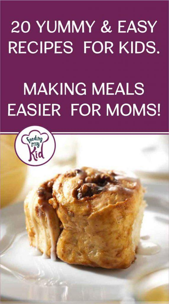 Recipes for Kids. Fun Ways to Make Meals Easier for Moms!