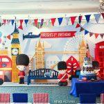 A British Themed 1st Birthday