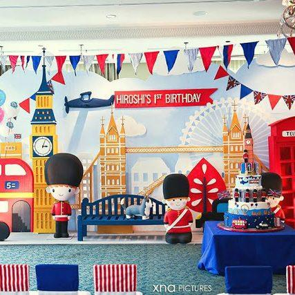 A British Themed 1st Birthday