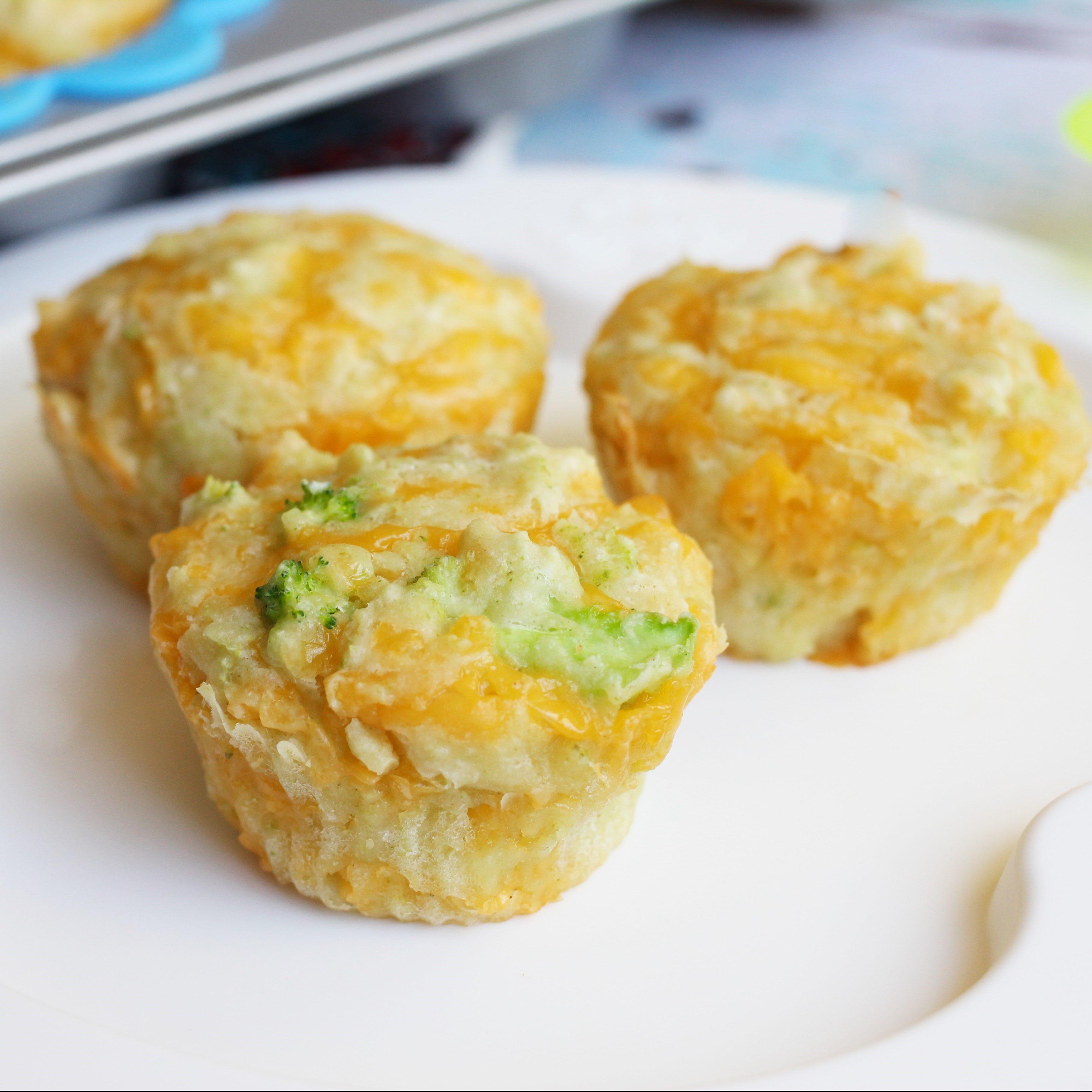 Broccoli Cheddar Muffins