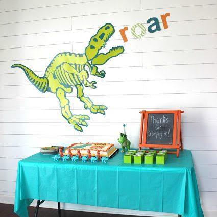 Budget Friendly Dinosaur Birthday Party