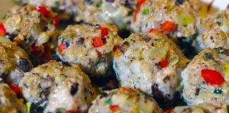 Chicken Homemade Meatballs loaded with Veggies and so Easy to Make