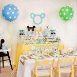 Creative Mickey Mouse 1st Birthday Party Ideas