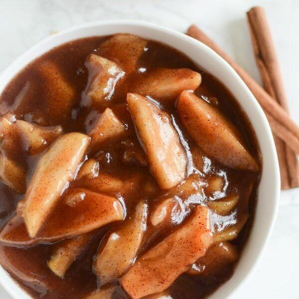 Crock Pot Cinnamon Apples