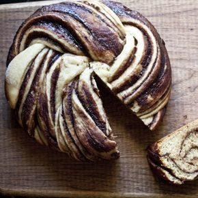 Crock Pot Nutella Swirl Bread