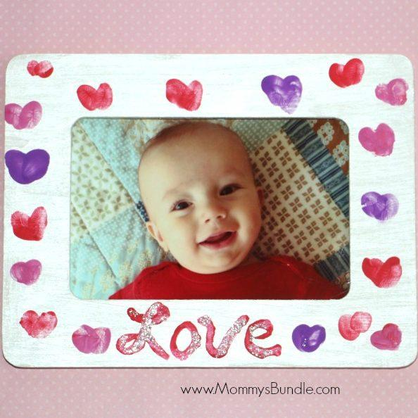 Fingerprint Heart Frame