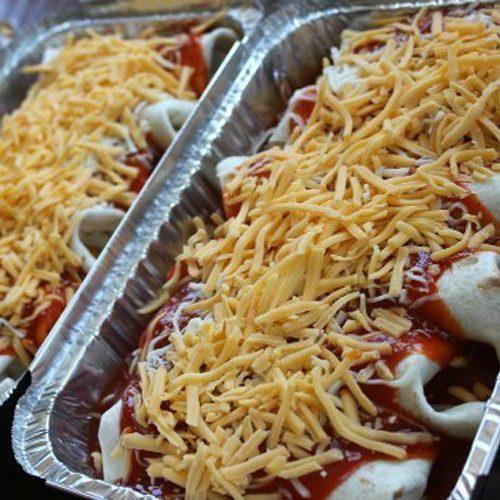 Freezer Beef Enchiladas