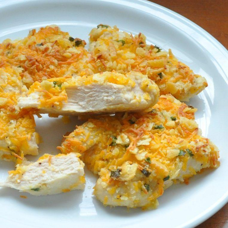 Freezer Meals: Crispy Cheddar Chicken