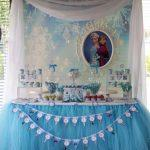 Frozen Birthday Party for Two Girls