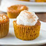 Gluten-Free Crustless Pumpkin Pie Cupcakes