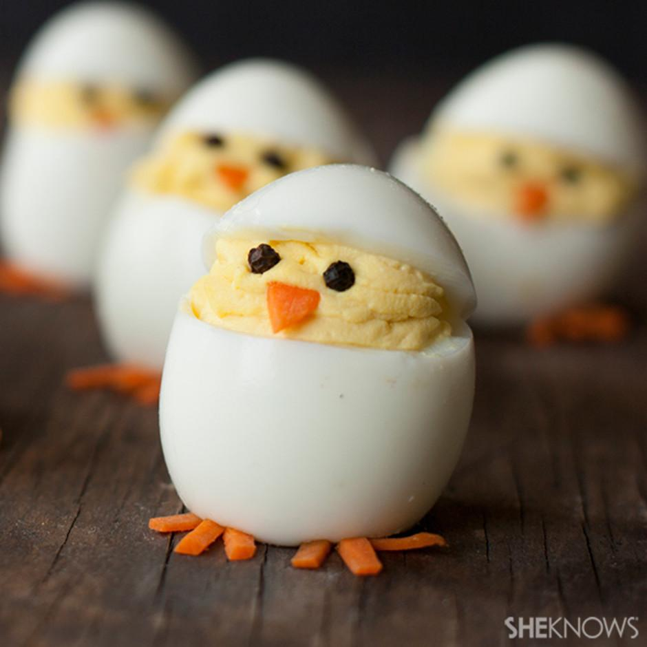 Hatching Deviled Egg Chicks