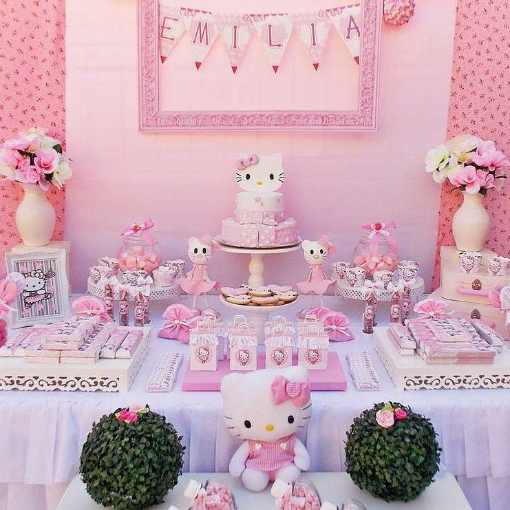 Hello Kitty Party Ideas Feeding My Kid