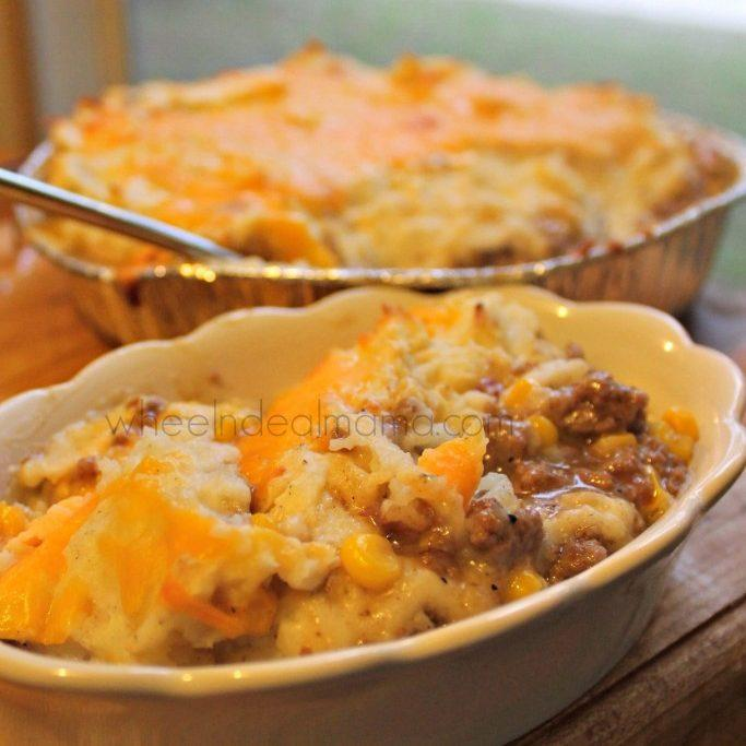 Homemade Shepherd's Pie - Easy Freezer Meal