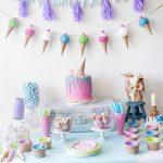 Kids Ice Cream Birthday Party