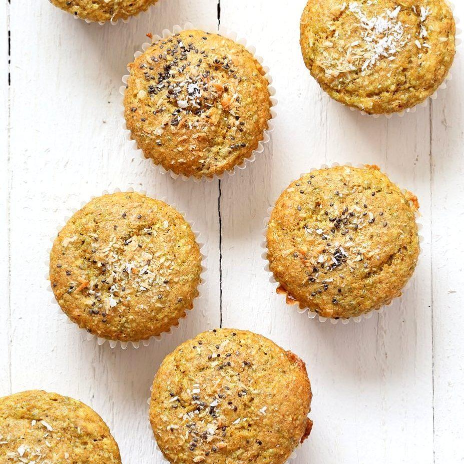 Lemon Coconut Chia Muffins