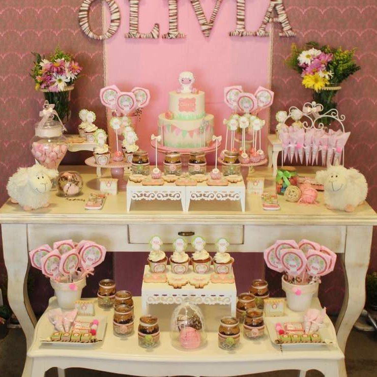 Glittering Gold and Pink Birthday