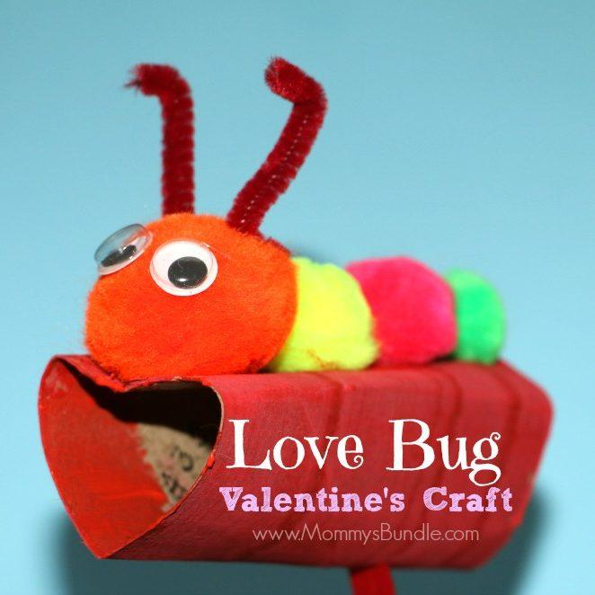 Love Bug Valentine's Craft