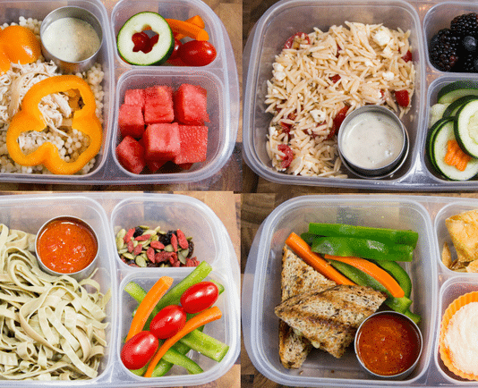You can give your kids so many different options for lunch. This list of healthy and easy lunch ideas for your kids will keep them full all day.