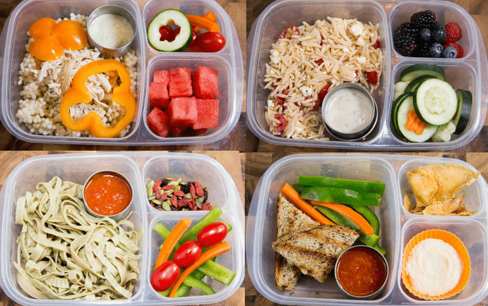 Tons of Healthy Lunch Ideas for School and Work