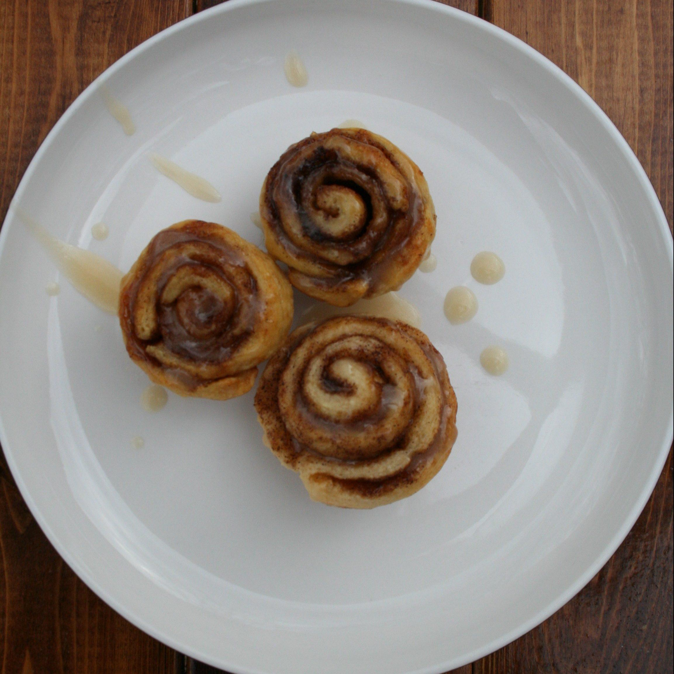 Mini Freezer Cinnamon Rolls