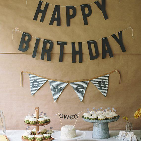 AD 21 Themed Birthday Party Ideas for Your 1-Year-Old