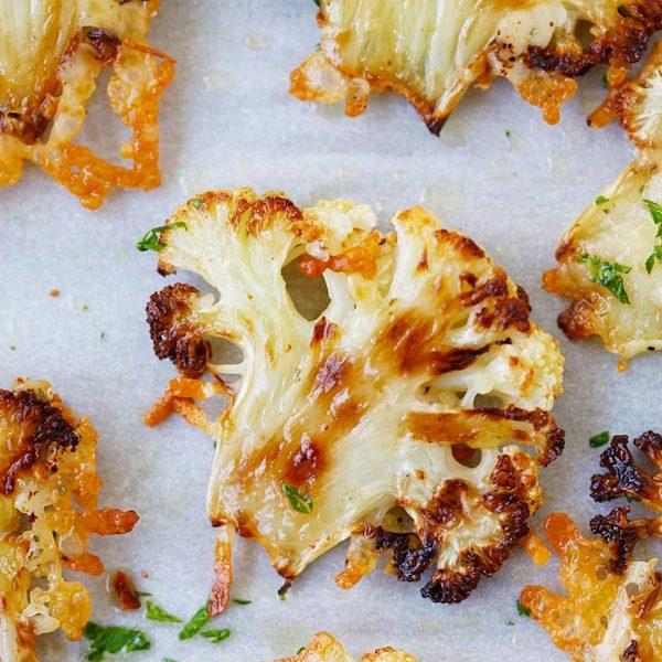 Parmesan Roasted CauliflowerParmesan Roasted Cauliflower