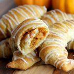 Pumpkin Pie Crescents