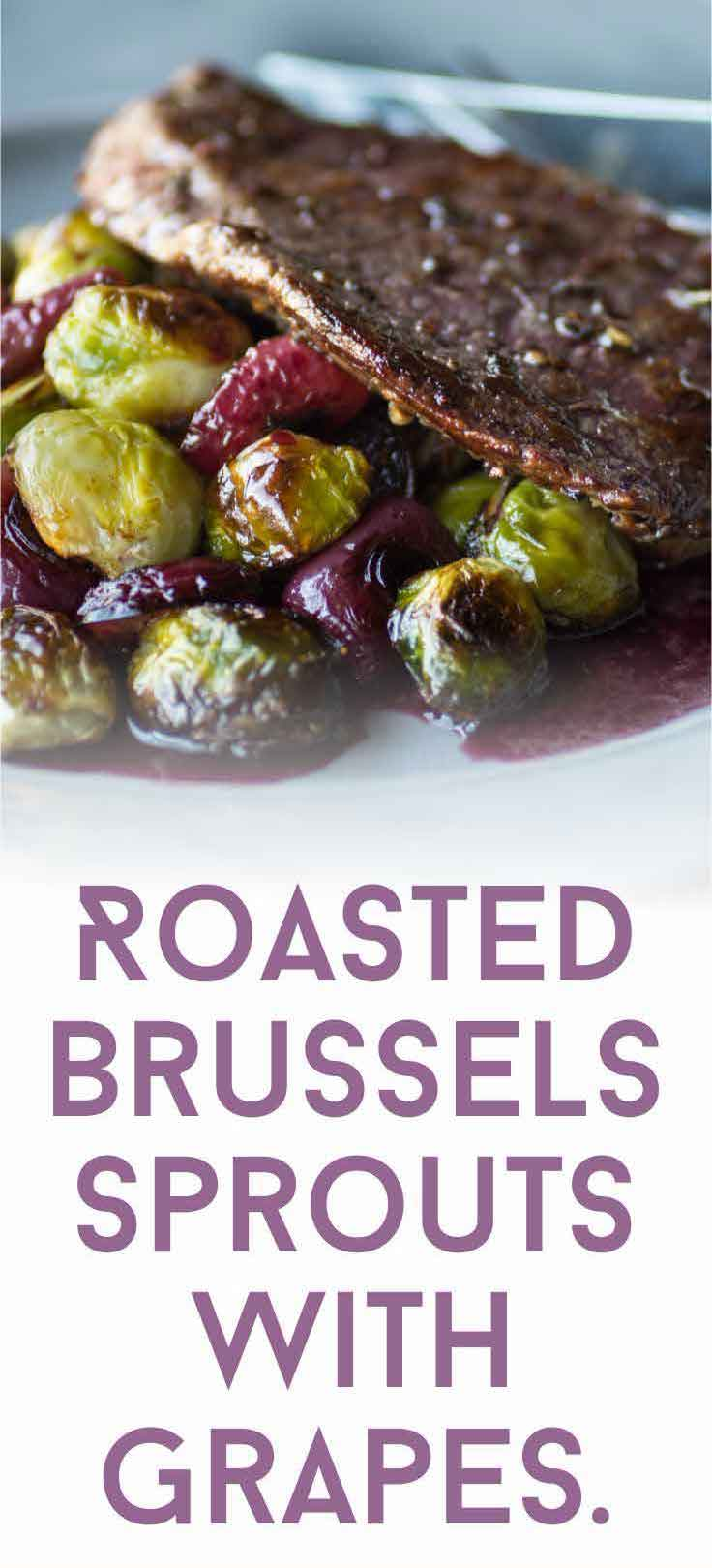 Roasting your Brussels sprouts brings out their sweet flavor! This roasted Brussels sprouts recipe is a delicious combination and it's so easy to prepare.