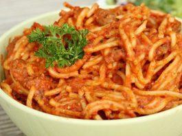 Slow Cooker Creamy Spaghetti