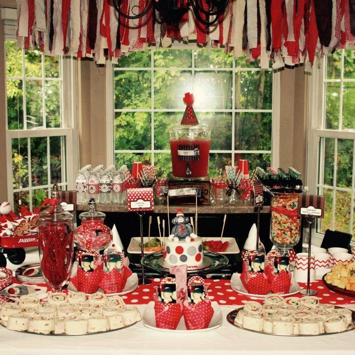 Christmas Themed 1st Birthday Party.Birthday Party Themes For Your One Year Old Unforgettable Ideas