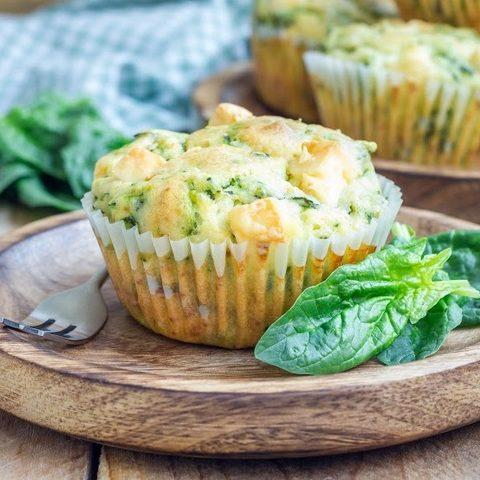 Spinach-Feta-Muffins