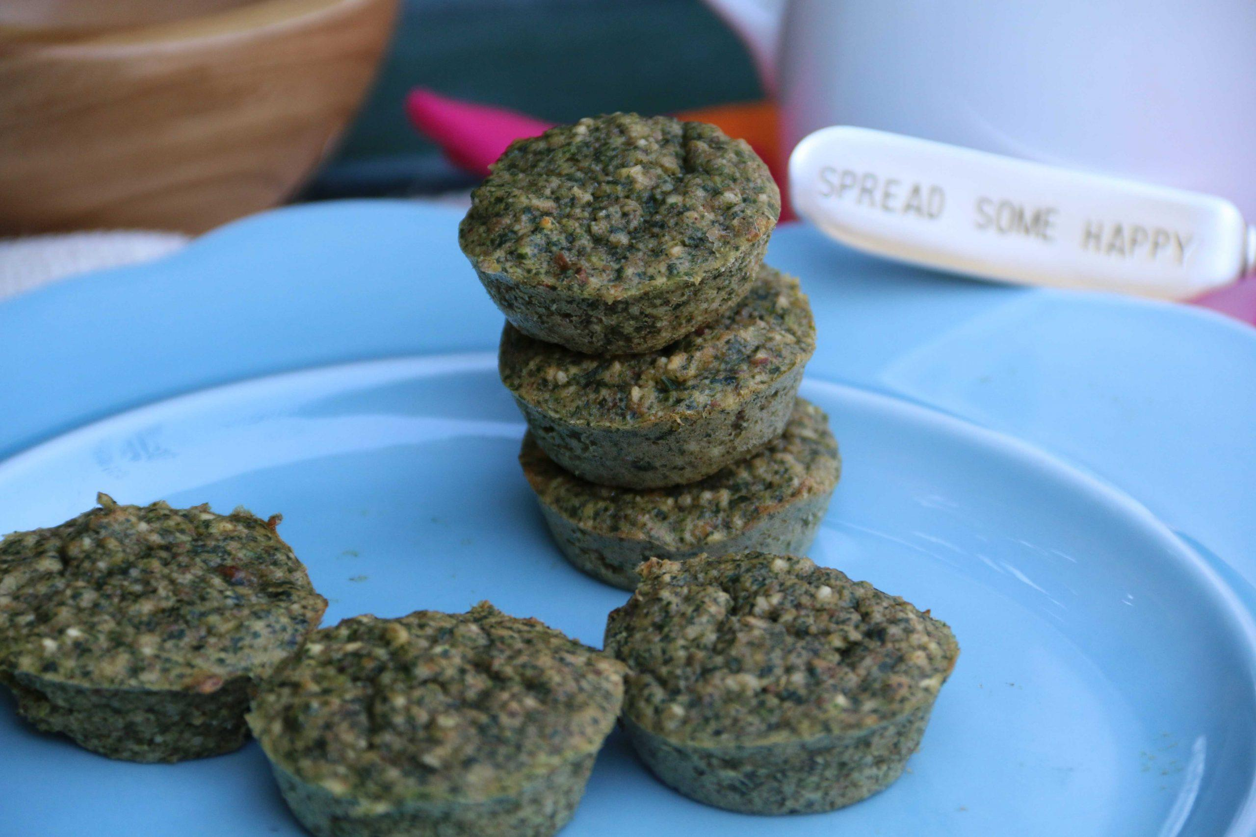 Make Ahead Spinach Muffins So Easy to Make with Kids