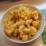 Super Easy Roasted Ranch Cauliflower