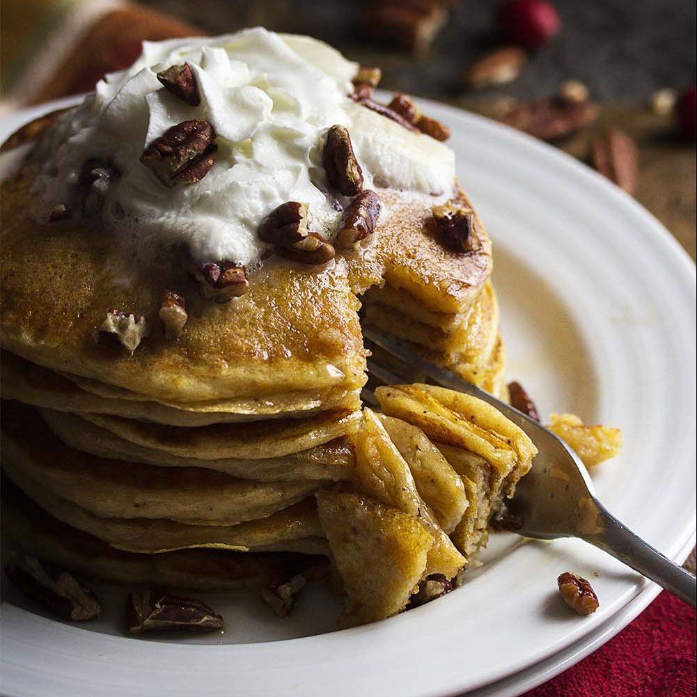 Sweet Potato Buttermilk Pancakes