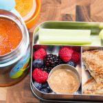 Tomato-Soup-with-Grilled-Cheese-and-Fruit