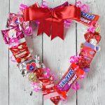 Valentine's Candy Wreath
