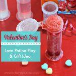 Valentine's Love Potion Activity and Gift Idea for Kids